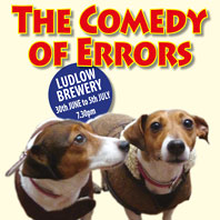 Tickets now on sale for The Comedy of Errors