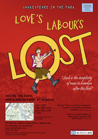loves labours lost shakespeare ludlow shropshire